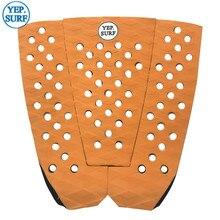 Free Shipping EVA Deck Pad Orange Surfboard Traction surf pads grip pranchas de