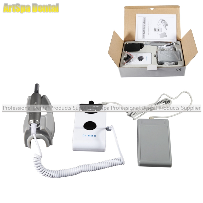 Dental Portable Micromotor Lab Electric Micro Motor polisher Brushless CICADA cicada