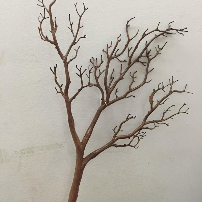 60~ 80 см искусственные Павлин Коралл сушеные ветви деревьев пластиковые искусственные цветы ветка дерева домашняя витрина Свадебные украшения