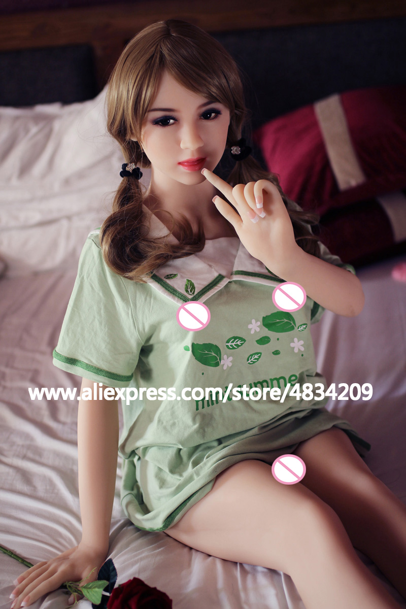 NEW 156cm Top quality real doll silicone sex doll for men Lifelike small breasts sex love