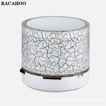 RACAHOO Mini Bluetooth Speakers A9 with LED light Portable Bluetooth Speakers Loudspeaker Receiver for iphone 6 6s 7 sumsang