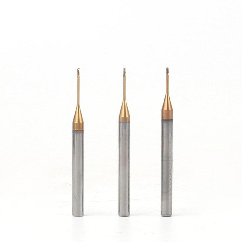 Купить с кэшбэком 1pcs 2flute HRC60 degree solid carbide end mill long neck milling cutter flat endmill  for CNC deep processing