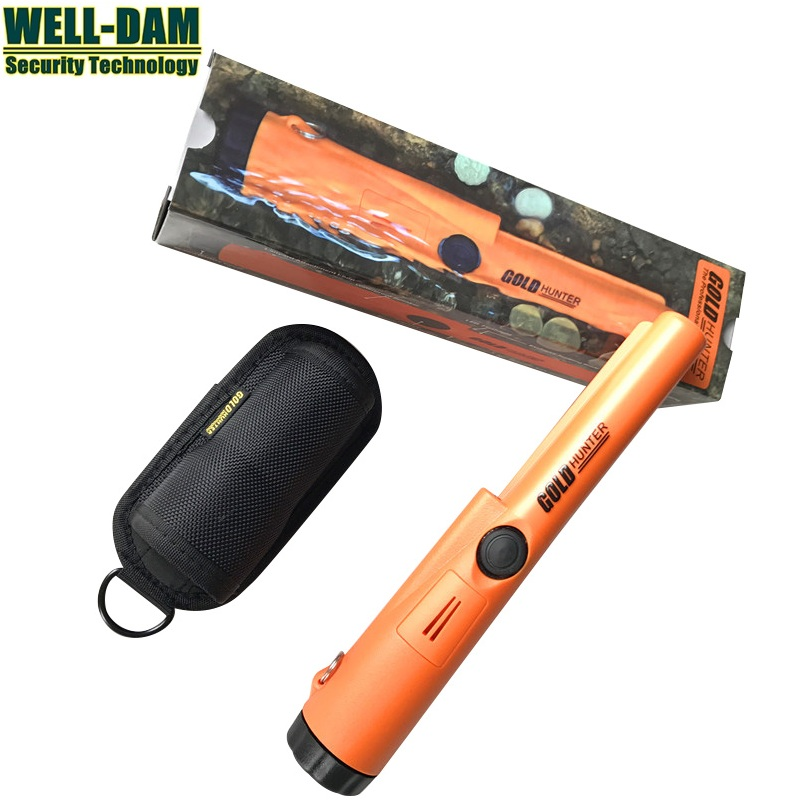 Free Shipping Gold Hunter AT ProPointer Waterproof underground gold detector cheap pinpointer metal detector free shipping 2pcs waterproof gold detector gold hunter at propointer orange color