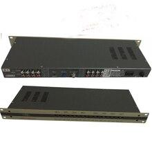 Modulador CATV de 8 vías, canalización de intervalo, modulador de frecuencia, conjunto de combinación, salida RF, NTSC/PAL B/G, modulador PAL DK/I