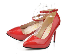 Sexy Pumps Damen Schuhe Frau Sandalen Nude Pumps Sandale Frauen Red Heels Römische Schuhe Partei Schuhe Spitze Zehen High Heel sandalen