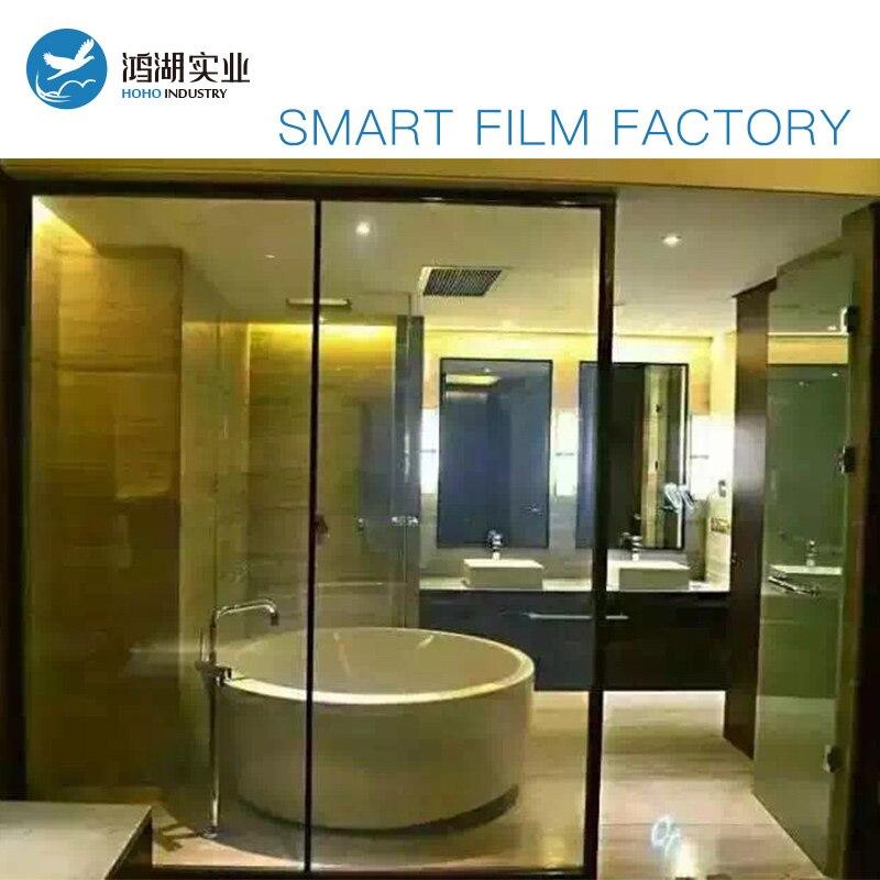 Sunice 1 m x 2 m taille confidentialité Film magique bâtiment/Automobile fenêtre teinte magique film intelligent