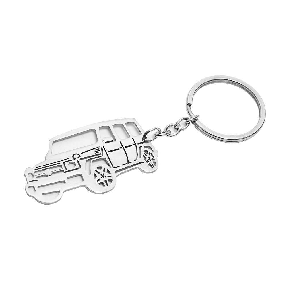 2018 новая продажа 2 модели ключ из металлического сплава цепи для Mercedes Benz G/GLE SUV автомобиль подарок