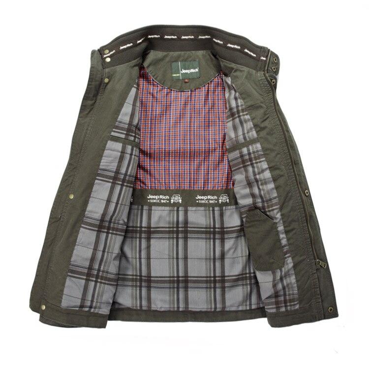 New Plus Size 7XL 8XL Autumn Military Jacket Men Cotton Brand Outwear Multi-pocket Mens Jackets Long Coat Male Chaqueta Hombre