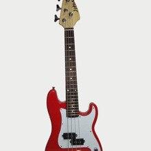34'(86 см) jstar Детская электрическая бас-гитара Детская электрическая PB бас-гитара для практики и детской группы(красная, 1pce упаковка
