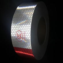 5cmx25m Car Reflective Material Tape Sticker Automobile Motorcycles Safety Warning Tape Reflective Film Car Stickers
