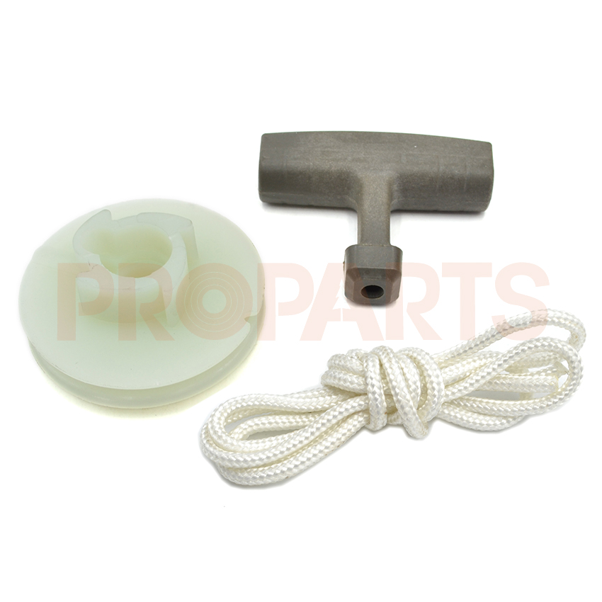 где купить Recoil Starter Handle Rope Pulley Kit For Husqvarna 50 51 55 Chainsaw Replacement 505 30 37-35 по лучшей цене