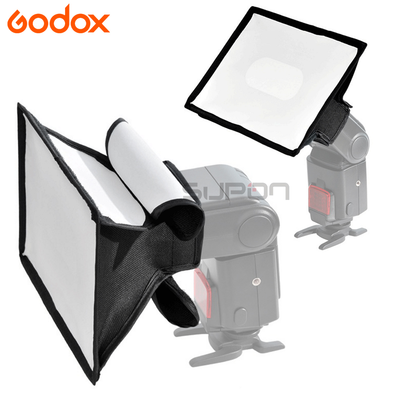 Godox Universal 15x20cm Light Flash Diffuser Foldable Softbox For On Camera V850II V860ii TT600 TT685 TR-988 Flash Speedlite