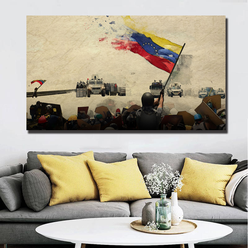 Repression In Paradise Feature Documentary Canvas Prints Picture Modular Paintings For Living Room Poster On The Wall Home Decor image