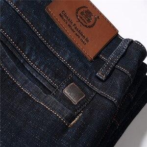 Image 5 - 2017 autunno Inverno Addensare Smart Casual Jeans di Modo Degli Uomini Del Denim Dei Pantaloni di Marca di Abbigliamento 30 42 Jeans 327B