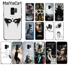 MaiYaCa Heda Lexa The 100 TV Show Phone Case Shell for Samsung Galaxy S9 plus S7 edge S6 S10Plus S10lite S10E S8 plus(China)