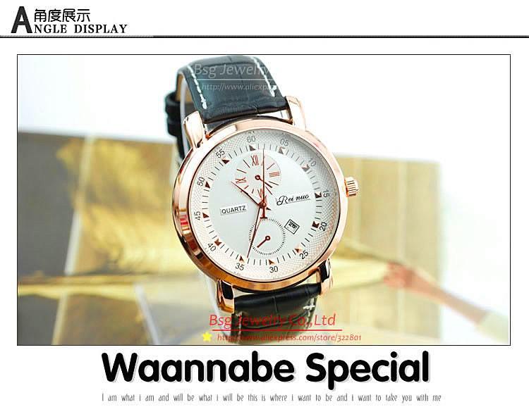 новая мода часы мужчины люксовый бренд бизнес формальный дел большой циферблат наручные часы высокого качества кварцевые часы smc1549