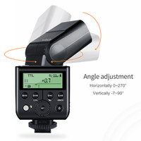 Godox V350S TTL HSS 1/8000s High speed sync Speedlite Flash with Built in 2000mAh Li ion Battery for Sony A77, A77II, A7R2 A6500