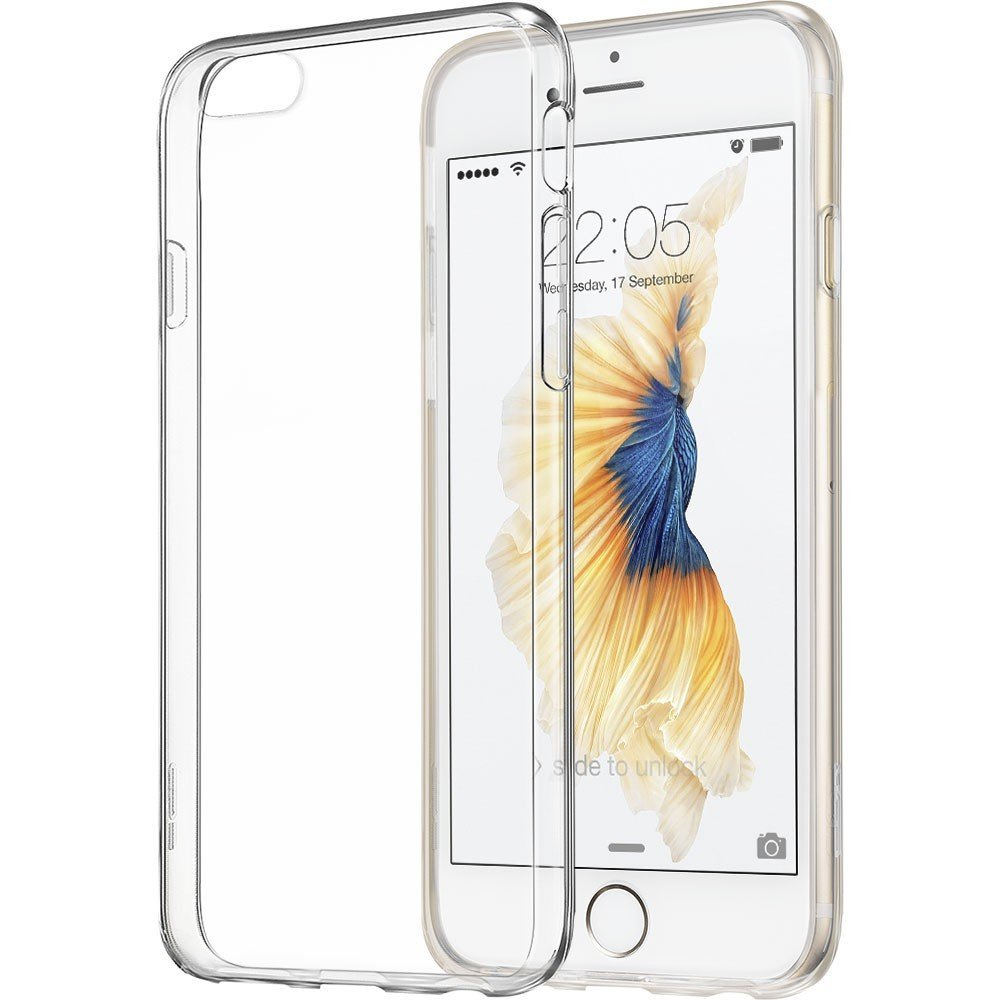 28bed4bb0d8de7 Ultra Thin Soft TPU Gel Transparent Crystal Clear Silicon Cover for iPhone  4 4S 5 5S