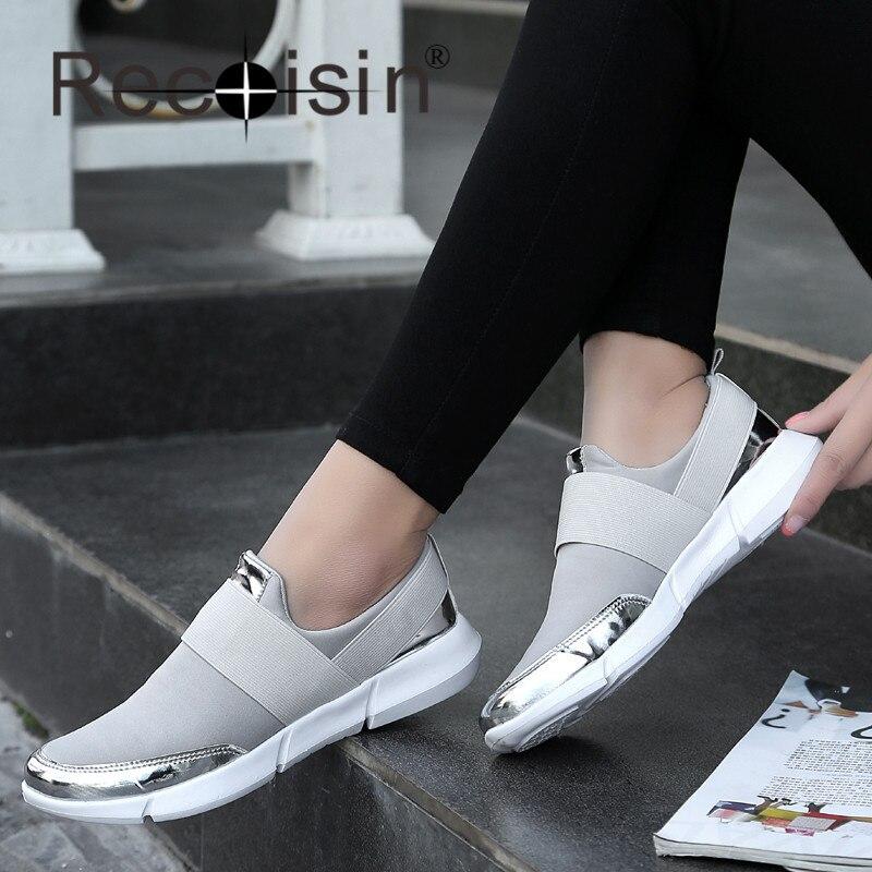 Recoisin 2017 nueva llegada de la manera de las mujeres zapatos de verano súper