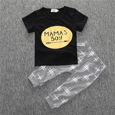 Clothing Set for Boys with Stylish Designs