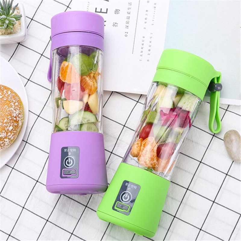 Mini Juice Makers Portable Multifunctional USB Charging Kitchen Accessories Fruits Vegetables Cup Electric Mixing