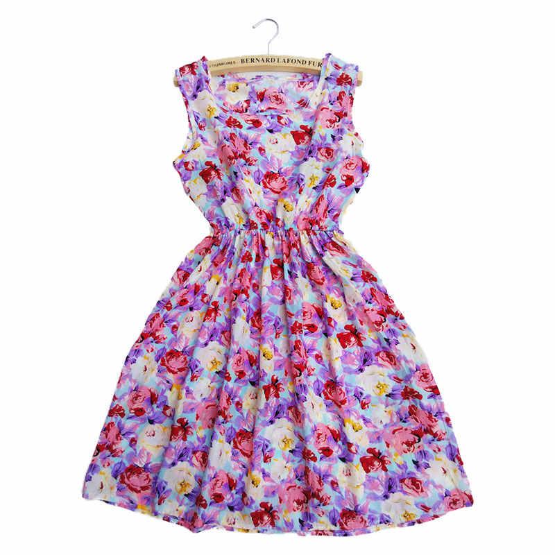 2018 사랑 빈티지 섹시한 보헤미안 꽃 튜닉 비치 드레스 Sundress 포켓 화이트 드레스 스트 라이프 여성 여름 여성 드레스 새로운