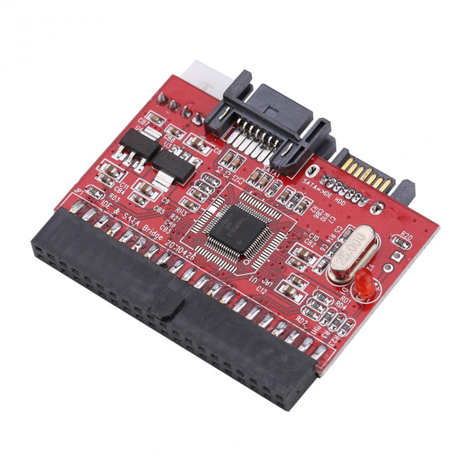 2 in 1 SATA to IDE Converter and IDE to SATA Converters Card Adapter 2017 Practical Good Quality tx2000 ide array card