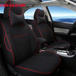 Cartailor льняная ткань сиденья комплект для Toyota Previa Чехлы на сиденья автомобили Салонные аксессуары набор стайлинга автомобилей