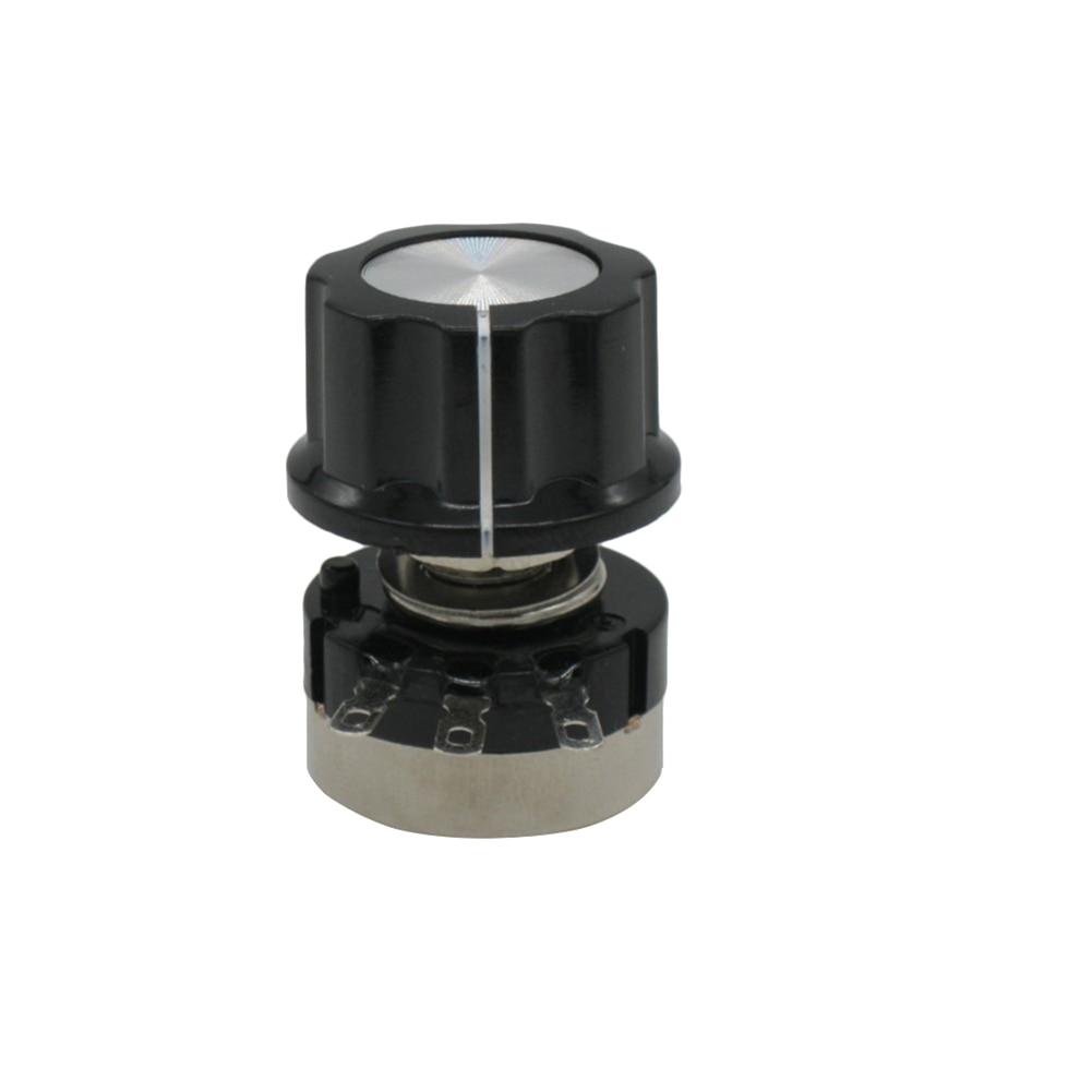 2 шт. RV24YN20S B502 5 k ohm угольный осажденный потенциометра одного-поворотный потенциометр+ 2 шт. A03 ручка
