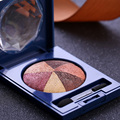New Brand Makeup 5 Colors Eyeshadow Palette Professional Natural Shimmer Eyeshadow Naked Nude Glitter Eye Shadow