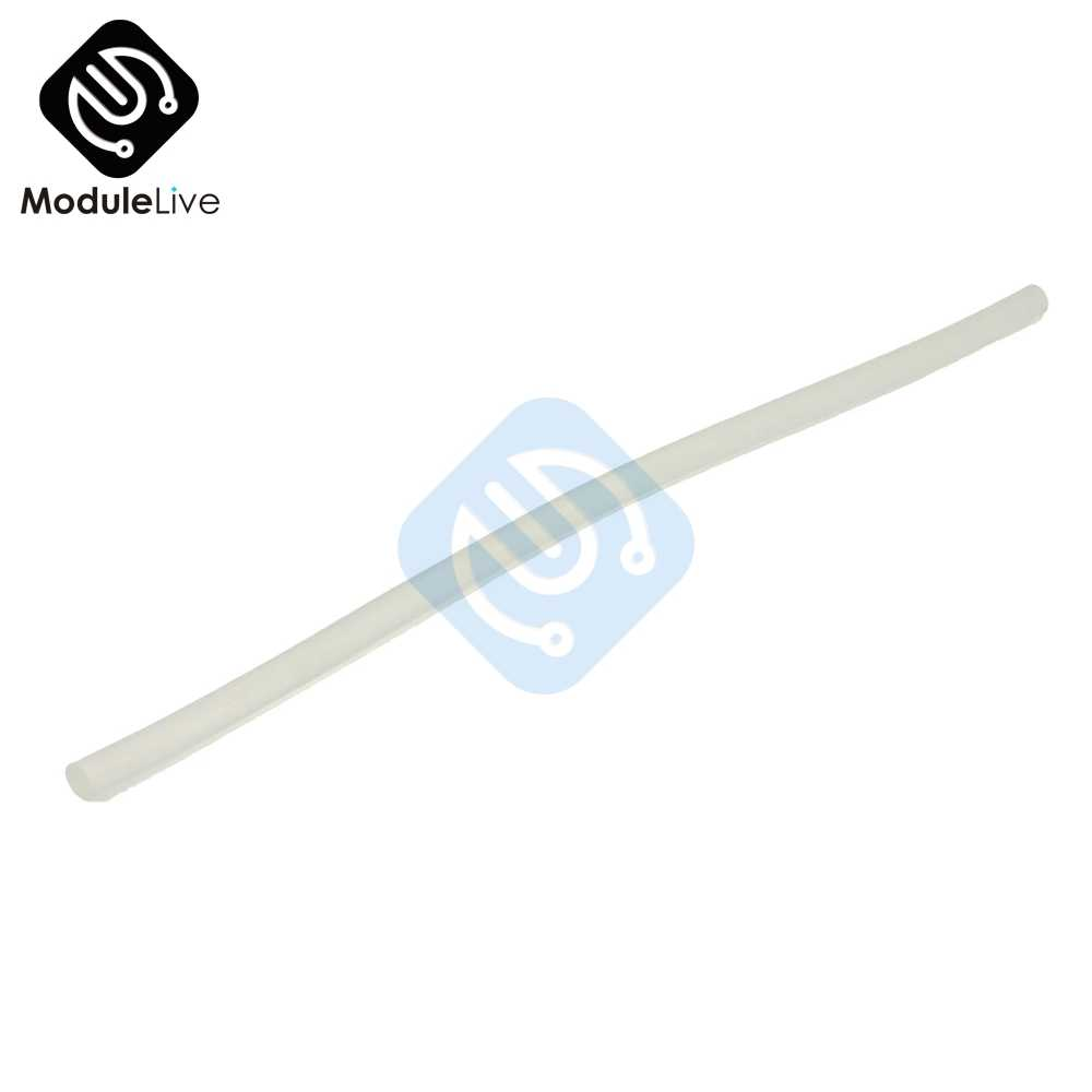 1PC pratique 7mm * 25cm clair colle thermofusible bâtons adhésifs bâton pour chauffage pistolet à colle