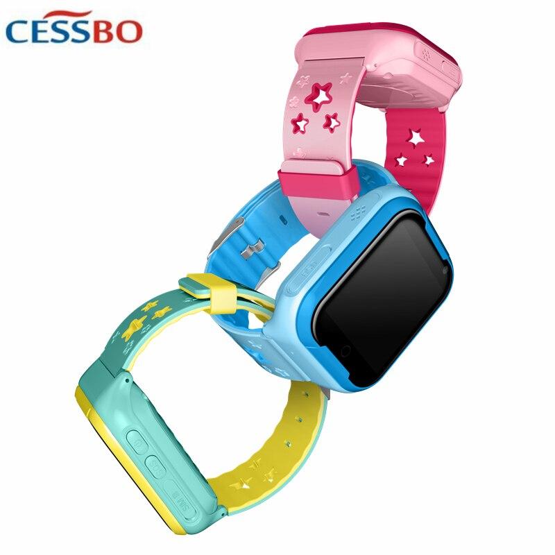 Q402 4G enfants GPS montre intelligente localisation dispositif Tracker SOS appel enfant sain intelligent Fitness sûr bébé montre intelligente écran tactile