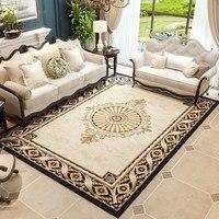 Elegant Villa Carpet Luxurious Rug Home Living Room And Bedroom Floor Mat Polypropylene Bedroom Carpet Sofa Coffee Table Rugs