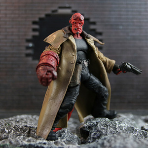 Фигурка Hellboy с сигарой самаритяна и большой малыш, 6 дюймов