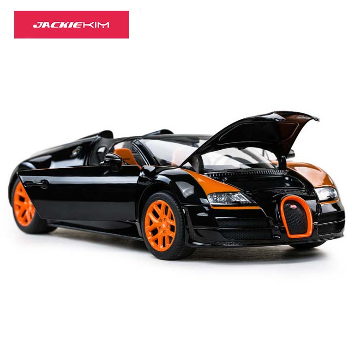 High Simulation 1 18 Bugatti Veyron Grand Sport Vitesse Alloy Diecast Car Model Decoration Gift For