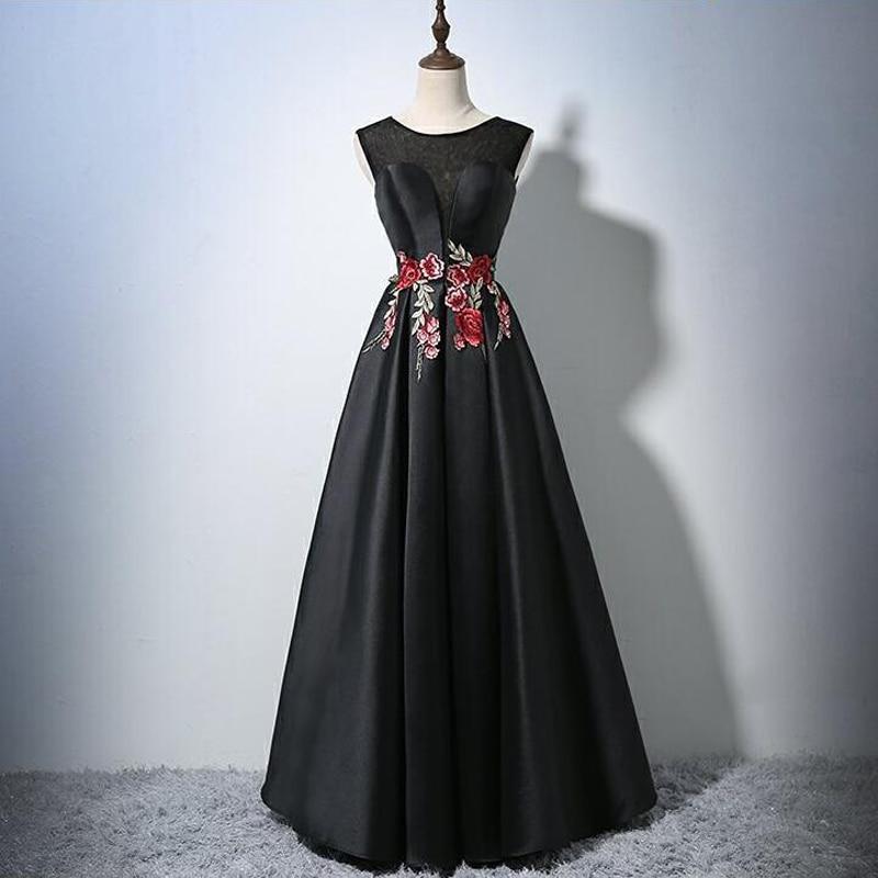 Long Bridesmaid Dresses Pretty Off The Shoulder Black O
