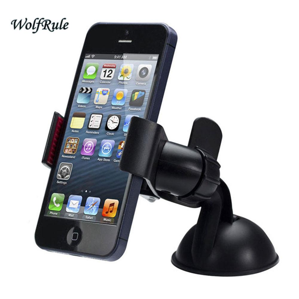 Soporte universal para teléfono de coche para iphone 7 Soporte - Accesorios y repuestos para celulares - foto 4