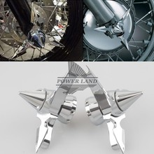 1pair ABS Plastic Chrome Front Spun Blade Spinning Axle Caps Bolt Nuts Cover for Harley Dyna Softail Touring XL XG Drop Shipping motorcycle front axle spun blade pointed spinning axle caps cover for harley dyna softail electra glide touring v rod black