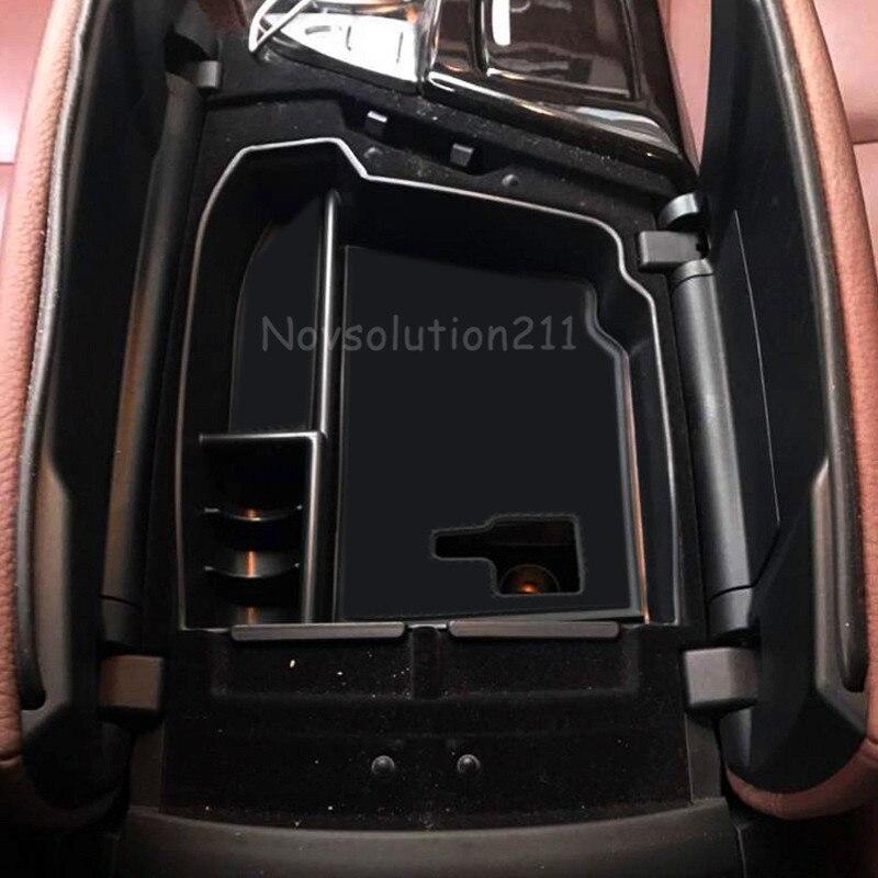 LHD Auto organizzatore Per BMW Serie 5 F10 2010-2016 Bracciolo Centrale Storage Box Container Holder Vassoio Accessori Auto Styling