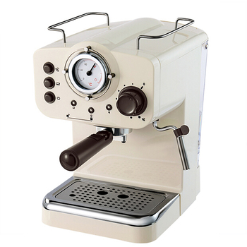 15Bar Espresso Machine with 1250ml Removable Water Tank for Making Italian Style Coffee