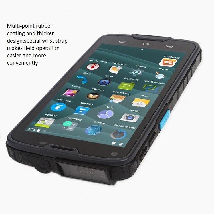 5 Polegada da Tela de Toque Industrial PDA Tablet Android com Construído EM 2D Leitor de código de Barras, NFC, Bluetooth, WI-FI, GPS, 4G LS5S (2D)
