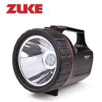 ZuKe 5 Вт Перезаряжаемые LED Фонарик Встроенный 4800 мАч 18650 Батареи Удобный Портативный Прожектор Открытый 330LM Led фонарь светодиодный