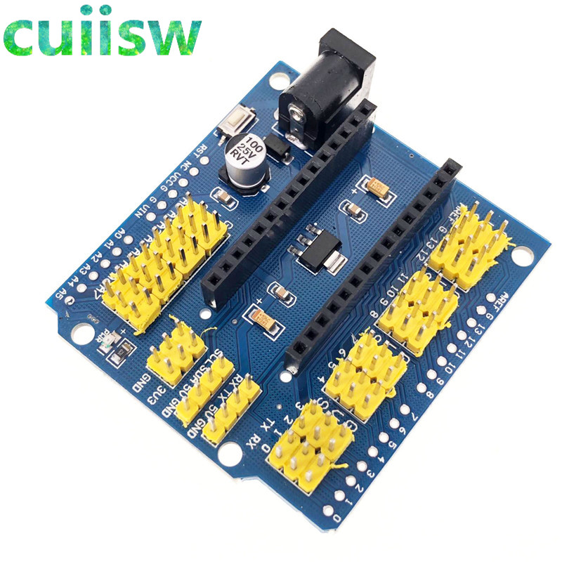 NANO V3.0 Adapter Prototype Shield and UNO multi purpose expansion board FOR arduino-in Integrated Circuits from Electronic Components & Supplies