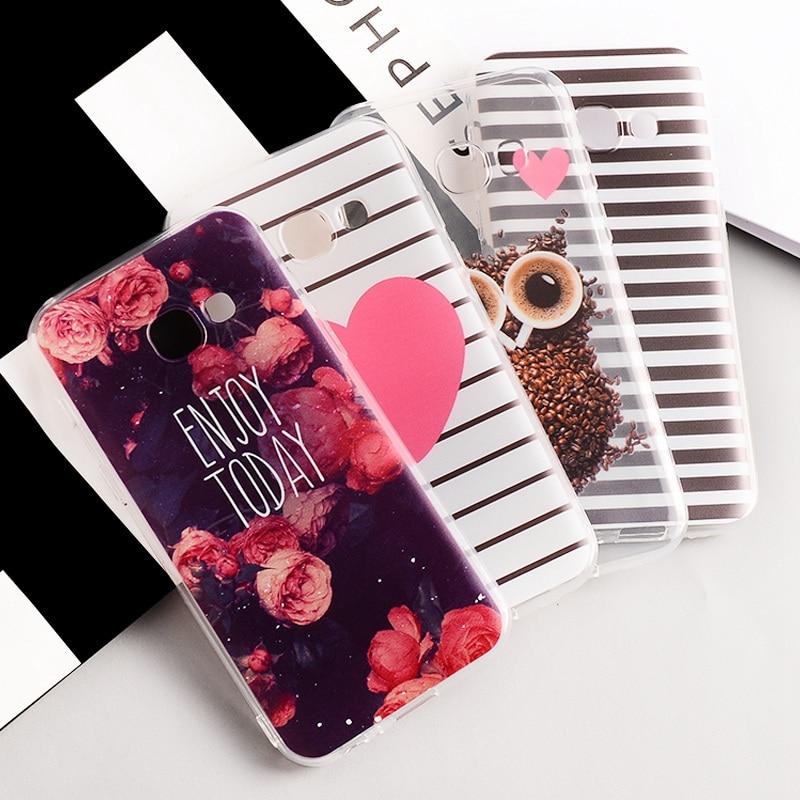 Motjerna Pattern Case For Samsung Galaxy A5 A3 A7 2017 J3 J5 J7 J1 mini A8 2016 J5 J500 2015 TPU Case For Samsung Galaxy A5 2017