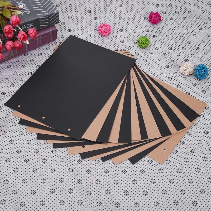 15pcs/Set DIY Photo Album Kraft Paper Vintage Blank Postcard Hand Painted Graffiti Paper Cards Message Card Album Accessories hot sale high quality 2000lb electric winch kits for atv utv off road vehicle 12v differential planetary