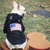 French Bulldog All Season Outdoor Jackets Pet Dog Clothes for Small Medium Clothes Puppy Raincoat Costume Dropshipping PC0891
