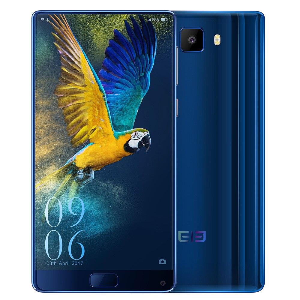 Elefon S8 Deca Core 4G Phablet Android 7.1 6,0 zoll 2 Karat Bildschirm Helio X25 2,5 GHz 4 GB + 64 GB 21.0MP Fingerabdruck-scanner Zelle handys