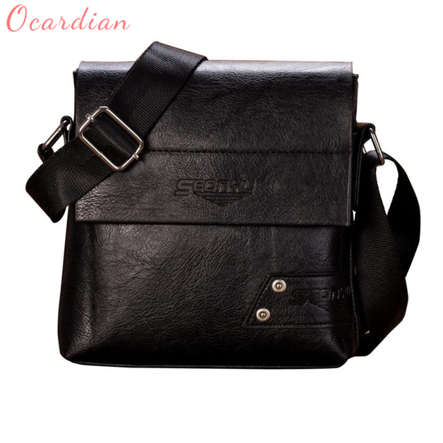 2018 Ocardian New Men Bolsa de Negócios de Moda Dual-use Bolsa E Bolsa de Ombro Bolsa Flap Saco Peito Saco Quente alta qualidade C0202