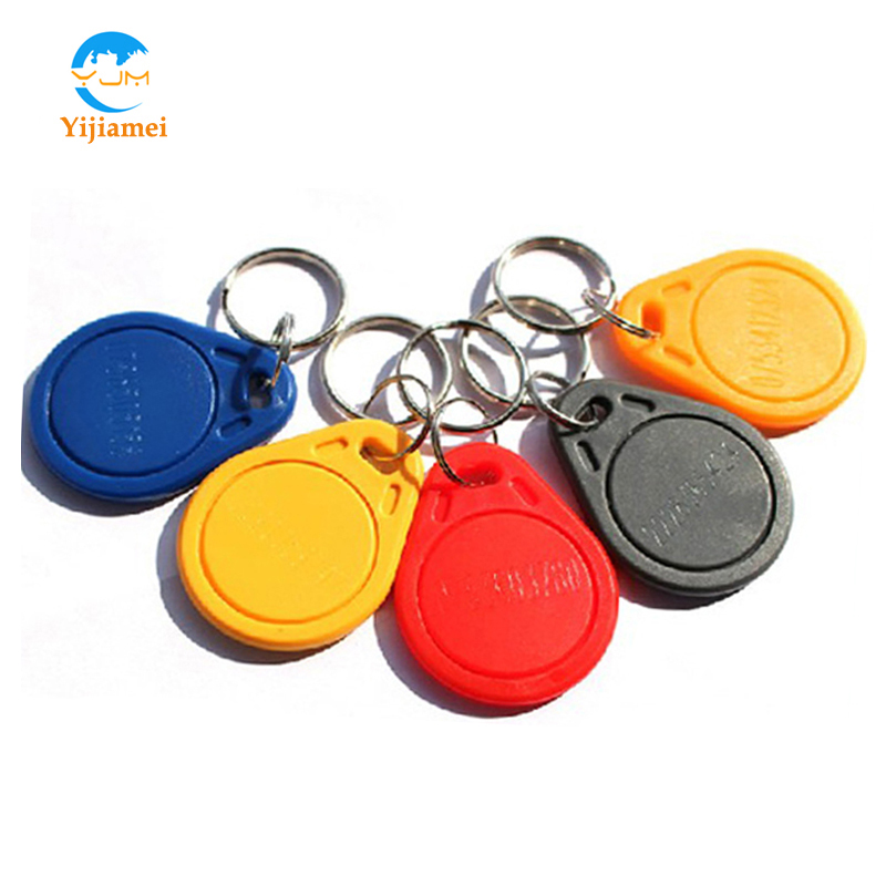 125KHz ABS RFID keyfobs Access Control Keyfobs Keychains YJ03ABS ID key tags
