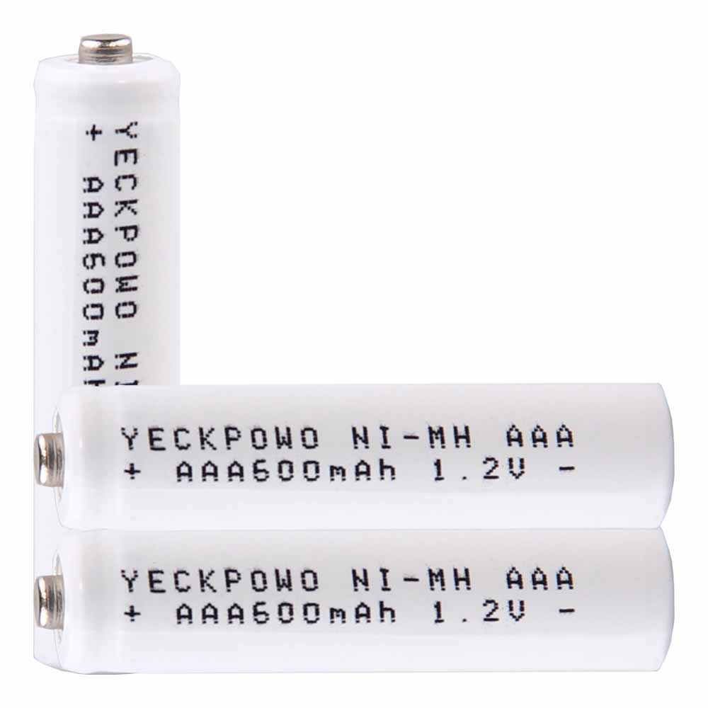 Lowest price 3 piece AAA battery 1.2v batteries rechargeable 600mAh nimh battery for power tools akkumulator